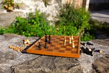 Free Chess Board Game Stock Image - 19539071
