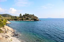 Free Small Peninsula In The Mediterranean Sea Stock Images - 19539094