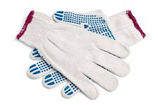 Free Pair Of New Work Gloves Stock Photography - 19539192