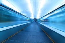 Free Moving Escalator In Airport Stock Photos - 19539313