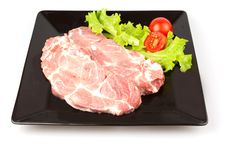 Free Raw Pork Steak Stock Images - 19539354