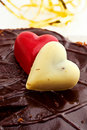 Free Marzipan Hearts Stock Images - 19540444