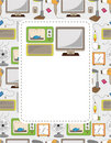 Free Cartoon Home Appliance Seamless Pattern Royalty Free Stock Photo - 19547365