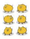 Free Fat Kittens Royalty Free Stock Photos - 19547408