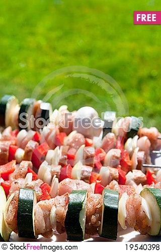 Shashliks Stock Photo