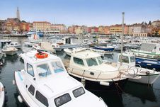 Free Boats In Rovinj Marina, Istria, Croatia Stock Photo - 19540270