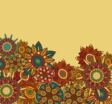 Free Floral Background Royalty Free Stock Photo - 19541215