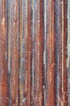 Free Rusty Zinc Metal Plate Royalty Free Stock Image - 19541726