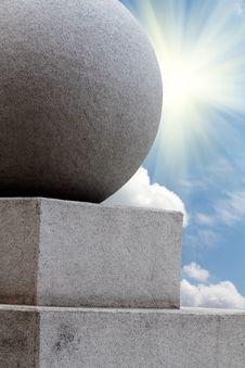 Free Sunrise  Sun  Sky  Sphere Stone Stock Images - 19542524