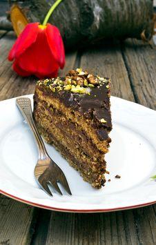 Chokolate Cake Stock Image