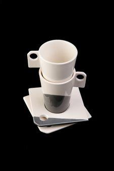 Free Two Mugs Stock Image - 19543241