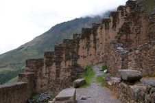 Free Ruins Of Ollantambo, Peru Royalty Free Stock Image - 19543266