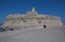 Free Agios Nikolaos Fort Stock Photo - 19544480