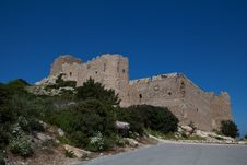 Free Kritinia Castle Royalty Free Stock Photos - 19544628