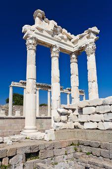 Free Temple Of Trajan Stock Image - 19544961