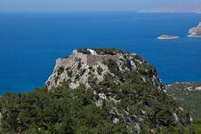 Free Monolithos Castle Stock Images - 19545064