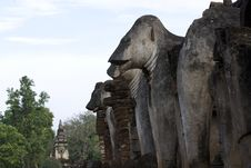 Free Elephant Statue. Royalty Free Stock Images - 19545089