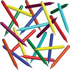 Free Felt Pen Stock Photography - 19545312