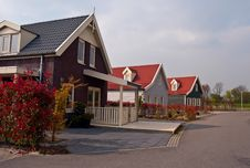 Free Dutch Houses . Royalty Free Stock Images - 19545909
