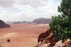 View, Wadi Rum, Jordan Royalty Free Stock Image