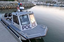 Free Volunteer Harbor Police Boat Royalty Free Stock Images - 19546529