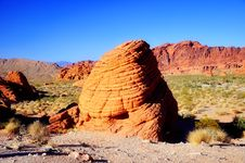 Free Valley Of Fire Royalty Free Stock Images - 19546989