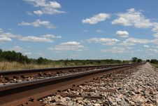 Free Railroad Tracks Stock Photo - 19546990