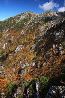 Free Autumn Mountain Royalty Free Stock Image - 19547106