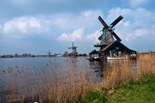 Free Windmills . Royalty Free Stock Image - 19547366