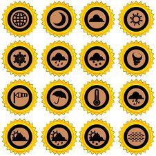 Free Weather Icons Stock Photo - 19547740