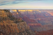 Free Grand Canyon At Sunrise Royalty Free Stock Photo - 19547835