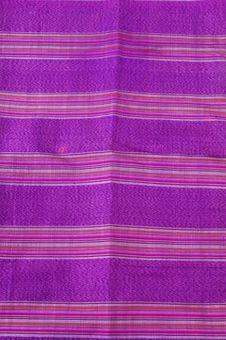 Details Woven Silk Sarong Bugis S Indonesia Royalty Free Stock Photo