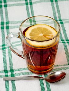 Free Cup Of Tea With A Lemon Stock Photos - 19548283