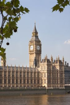 Free Big Ben Clock Tower Royalty Free Stock Images - 19548569