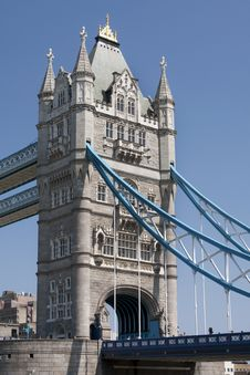 Detail Of Tower Bridge Stock Image
