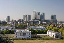 Panorama Of London Stock Image