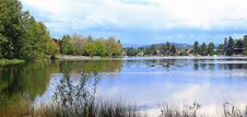 Free Blue Lake Park & Surrounding Area, Fairview OR. Stock Image - 19549151