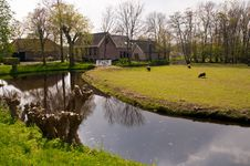 Free Typical Dutch Country House In Netherlands . Stock Images - 19549174