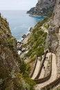 Free Capri View - Via Krupp Stock Photography - 19552522