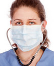 Free Young Medical Worker Royalty Free Stock Images - 19554059
