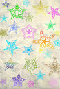 Free Grunge Colorful Stars Background Royalty Free Stock Photography - 19556847