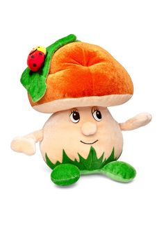 Free Soft Toy Fungus Royalty Free Stock Image - 19550326