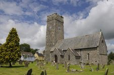 Free Lamphey Church Stock Photo - 19551350