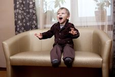 Free Boy At Home Royalty Free Stock Images - 19551669