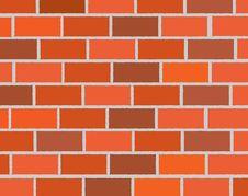 Free Brick Wall. Royalty Free Stock Photography - 19551777