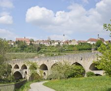 Rothenburg Panorama Stock Photo