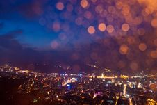 Free Lanzhou Night Stock Photos - 19552043