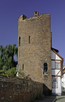 Free Lubeck Half Tower Stock Photography - 19552092