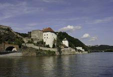 Free Passau Riverscape Royalty Free Stock Photos - 19552238