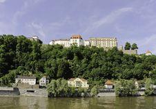 Free Passau Castle And Riverscape Stock Photos - 19552283